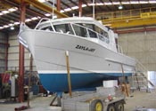 Marine protective coating and fibreglass protective coating - Nyalic